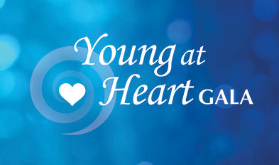 Register now for Bethany's Young at Heart Gala